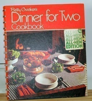 1973 Betty Crocker's Dinner for Two