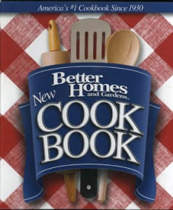 Better Homes and Gardens New Cook Book, 2002