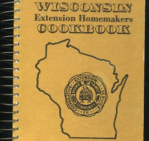 Wisconsin Extension Homemaker Cookbook