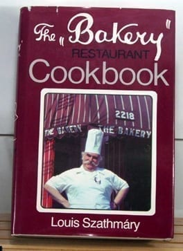 Bakery Restaurant Cookbook