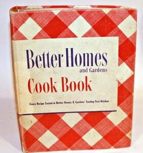 Better Homes and Gardens Cook Book De Lux 1949