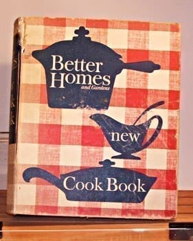 Better Homes and Gardens New Cook Book, 1953