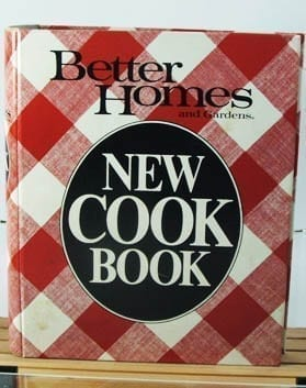 1982 Better Homes Gardens New Cook Book