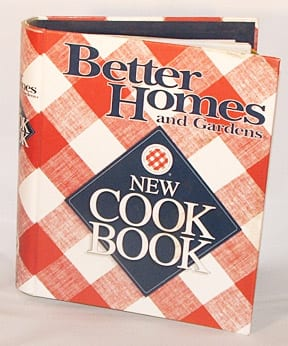 Better Homes Gardens New Cook Book 1996