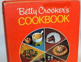 Betty Crocker's Cookbook Red Pie