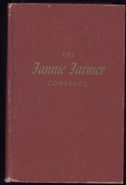 Fannie Farmer Cookbook, 11th Edition