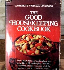 Good Housekeeping Cookbook, 1973, with dust jacket