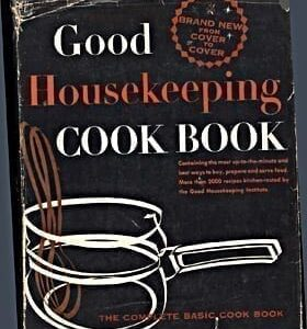 Good Housekeeping Cook Book 1955 with Dust Jacket