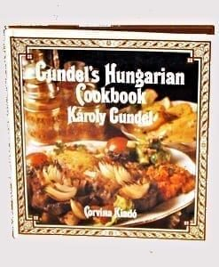 Gundel's Hungarian Cookbook, 1956, 1995