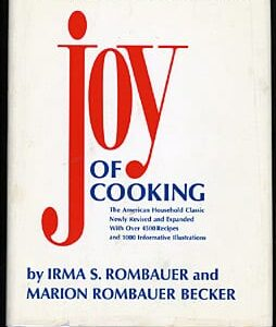 1975 Joy of Cooking with Jacket