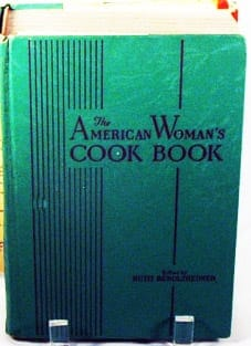 American Woman's Cook Book First Edition