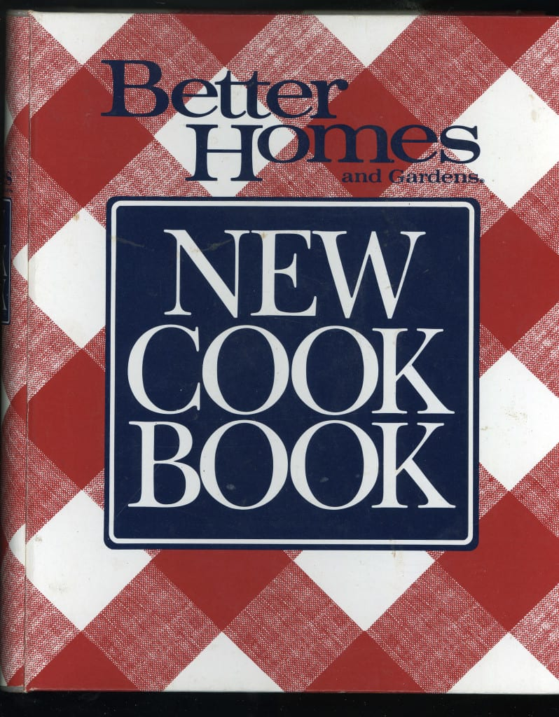 Better Homes Gardens New Cook Book 1989 First Edition First Printing