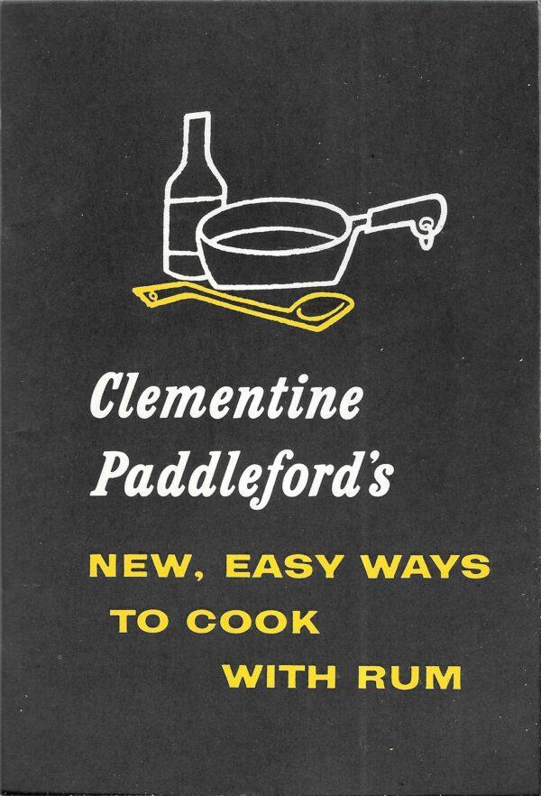 vintage liquor brochure