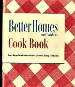 Better Homes Gardens Cook Book