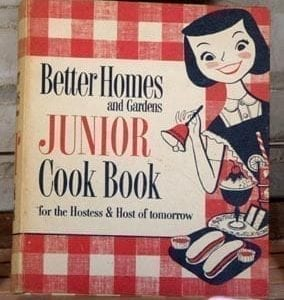 Better Homes Gardens Junior Cook Book, 1955
