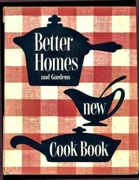 1953, 1962 Better Homes Gardens New Cook Book, Excellent Vintage Condition