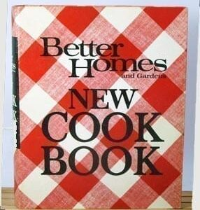 Better Homes Gardens New Cook Book, 1968