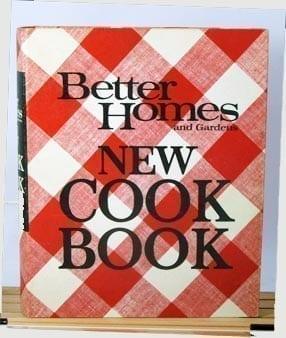 Better Homes Gardens New Cook Book, 1968
