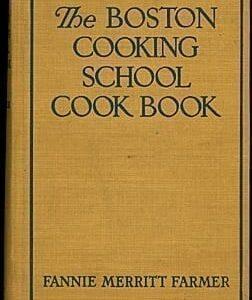 Fannie Farmer's Boston Cooking School Cook Book, 1945