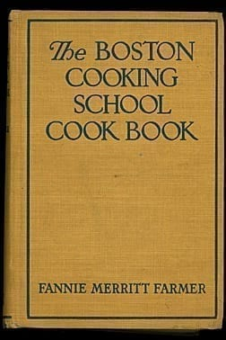 Fannie Farmer's Boston Cooking School Cook Book, 1945