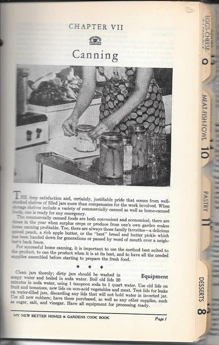 My Better Homes Gardens Cook Book
