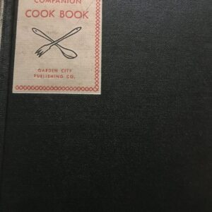Woman's Home Companion Cook Book in Near-Mint Condition