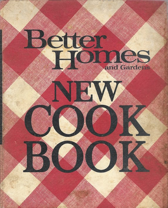 Better Homes Gardens New Cook Book 1968 Cooks Copy