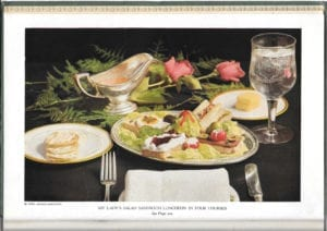 Edgewater Beach Hotel Salad Book
