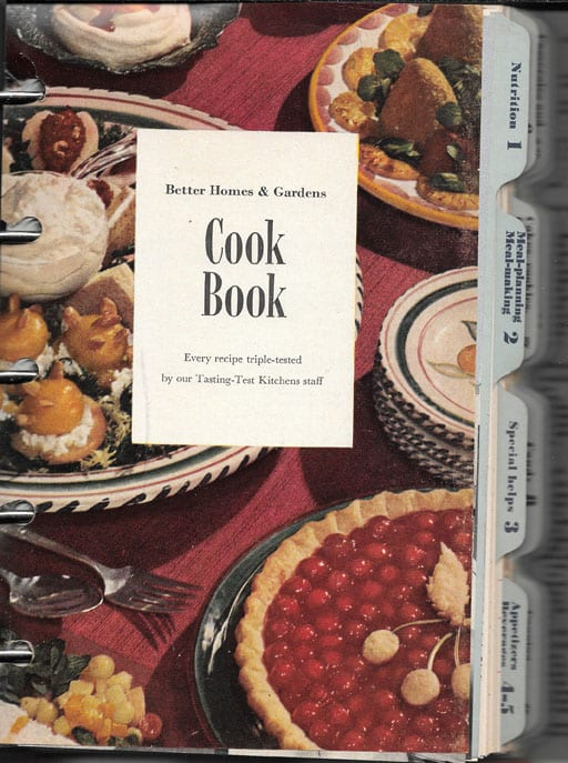 Better Homes and Gardens Cook Book, 1951