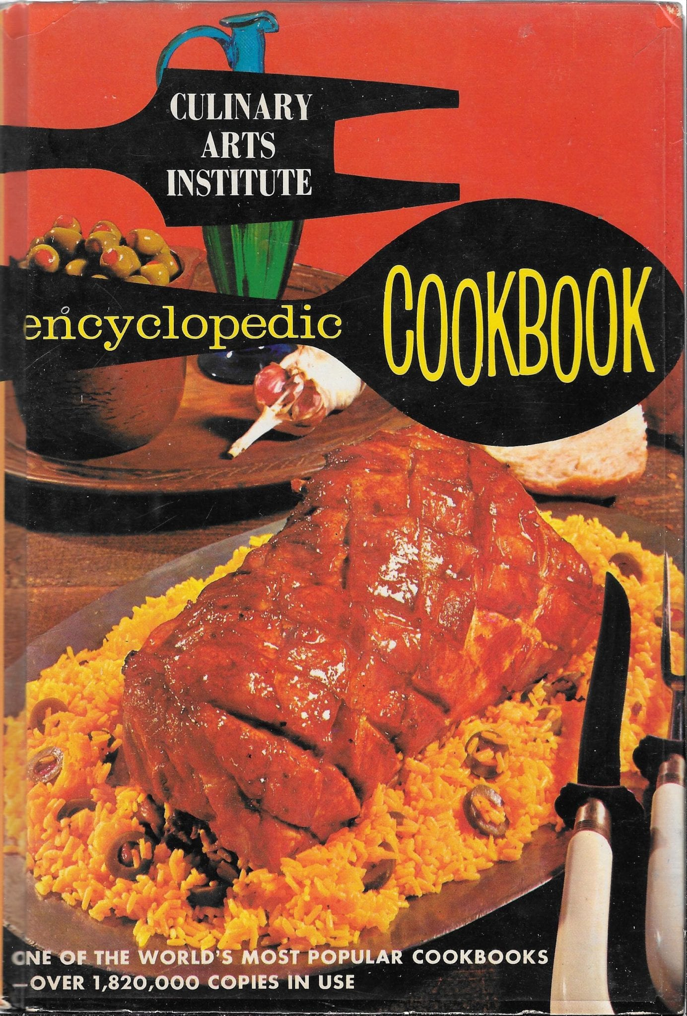 Vintage Cookbook >> Culinary Arts Institute Encyclopedic Cookbook, 1976: Mint condition!