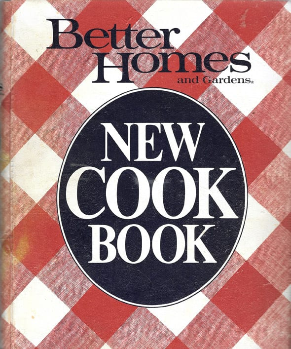 Better Homes Gardens New Cook Book, 1981, Cook's Copy