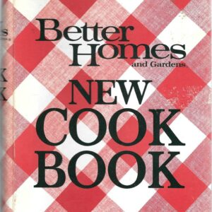 1968 Better Homes Gardens New Cook Book