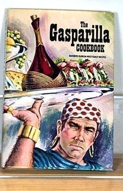 Gasparilla Cookbook with Dust Jacket