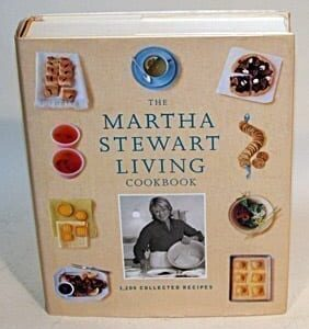 Martha Stewart Living Cookbook, 2000, First Edition, First Printing