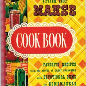 Meals from the Manse Cook Book