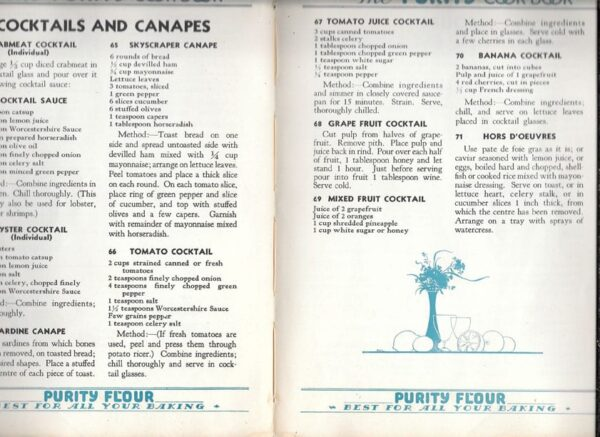 Purity Cook Book, 1932