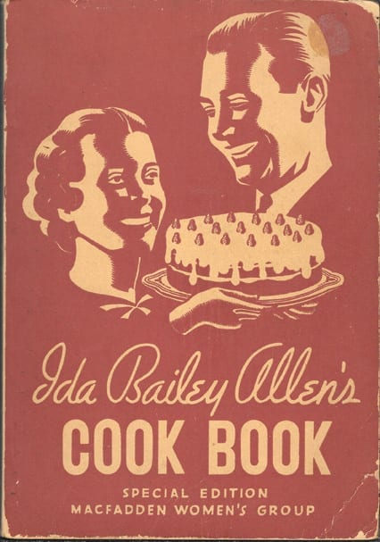 Ida Bailey Allen's Cook Book