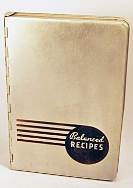 Balanced Recipes by Pillsbury in Atomic Aluminum Case