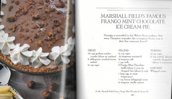 Marshall Field's Frango Chocolate Cookbook