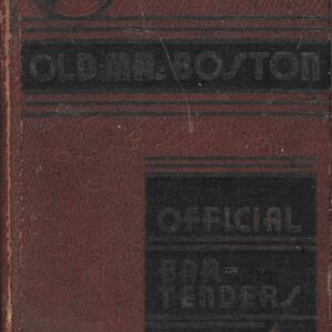 Old Mr. Boston First Edition