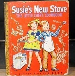 Vintage Children's Cookbooks, including Textbooks