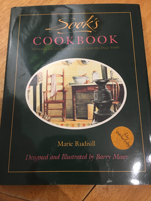 Sook's Cook Book, 1989, First Edition, First Printing, Signed by Author