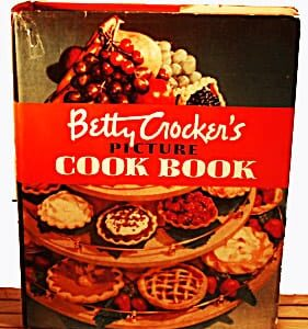 Betty Crocker's Picture Cook Book, 1950, with Dust Jacket