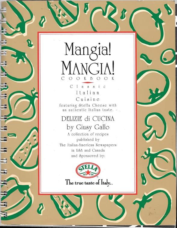 Chestnut Cake from Mangia! Mangia! Cookbook