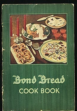 Bond Bread Cook Book, 1935, General Baking Co.