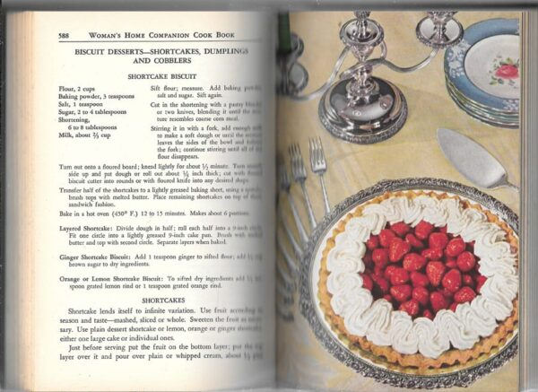 1946 Woman's Home Companion Cook Book