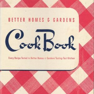 Better Homes and Gardens Cook Book, 1941