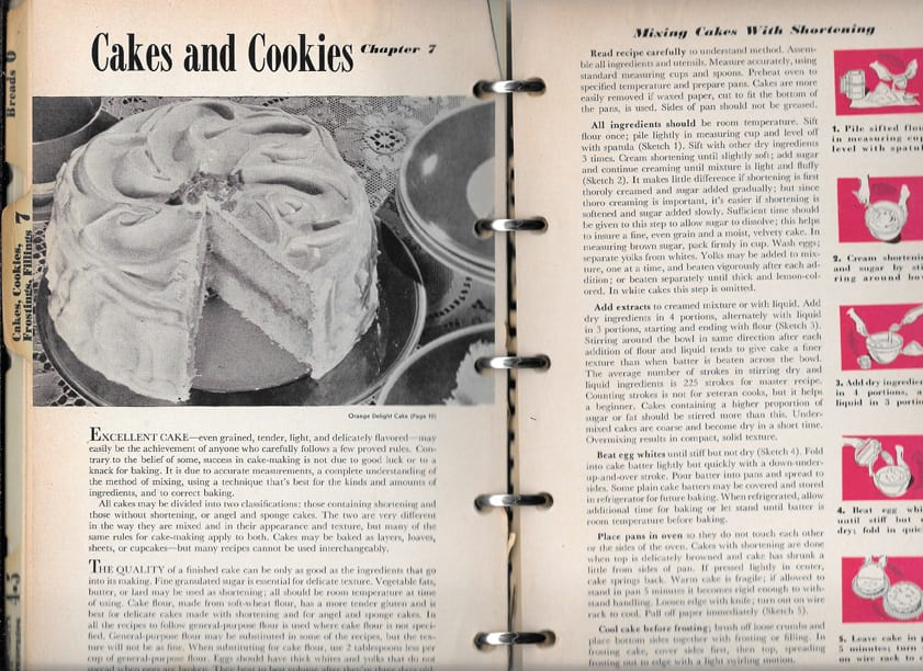 Better Homes Gardens Cook Book 1947 Excellent Vintage Condition