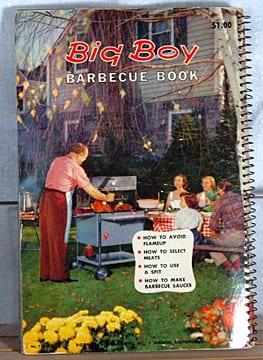 Big Boy Barbecue Book, Tested Recipe Institute, 1956, 1963