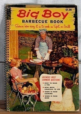 Big Boy Barbecue Book, Tested Recipe Institute, 1956, 1963